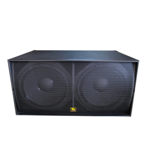 "WS218X Professional Outdoor Dual 18 ""Subwoofer-Lautsprecherbox"