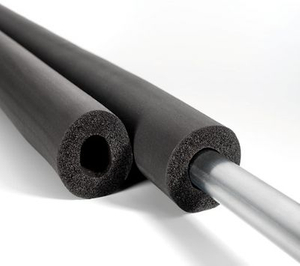 Black construction used Rubber Foam Insulation Tube, tube insulation