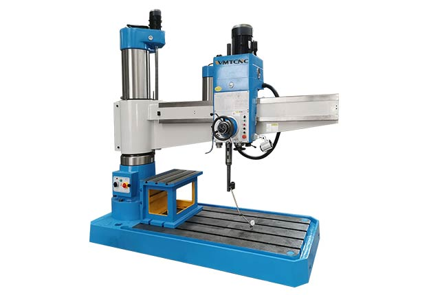 How to use a Z3063 hydraulic radial drilling machine?
