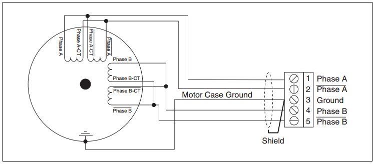 stepper motor wiring options