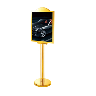 Upright Exhibition Stand for Public Place (ZP-48)
