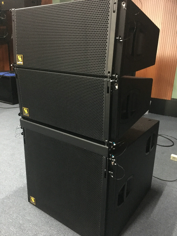 Sanway Audio New يطلق V8 و V-SUB Line Array Loudspeaker و Subwoofer
