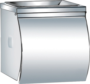 Stainless Steel Toilet Paper Holder with Ashtray KW-A07