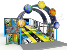 Mich Funny Slide Indoor Amusement Playground 6611B