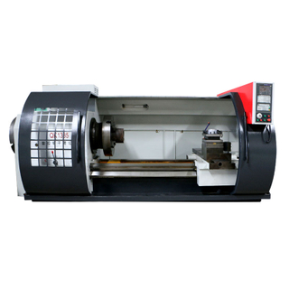 QK1335 Best Selling China CNC Pipe Threading Lathe Machine Price