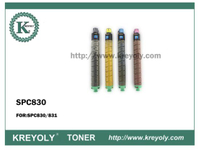 High Quality Ricoh SPC830 Color Toner Cartridge for Ricoh SPC830/831