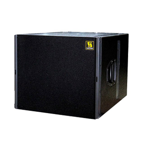 "Q-SUB Single 18 ""Pro Audio PA Subwoofer Box Design"