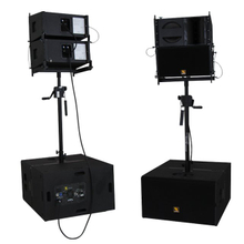 VR10 & S30 10 inci atas dan 15 inci subsistem Powered Line Array System