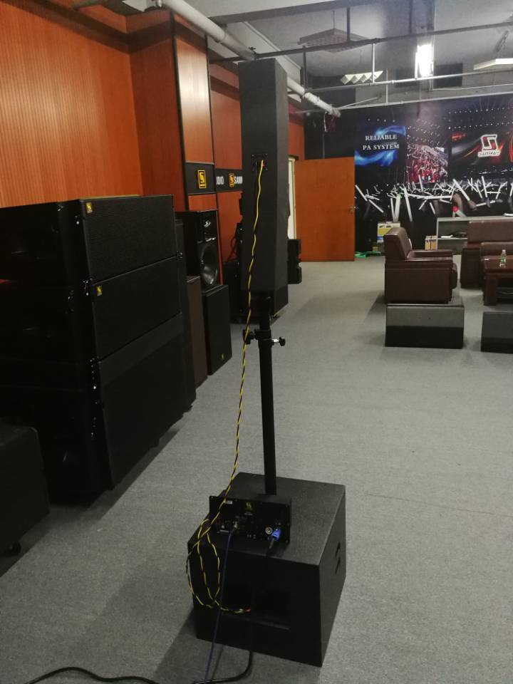 speaker array baris kolom