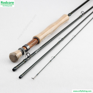 dry fly rod 1005-4 10ft 4pc 5wt