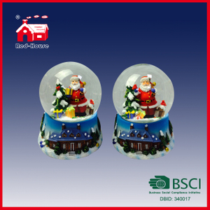 The Most Popular 100mm Christmas Snow Globe Water Globe Customized Snow Globe on Hot Sale