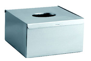 Stainless Steel Squares of Paper of Table Tissue Box KW-A002