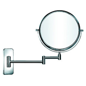 Square Bottom Cosmetic Mirror with Copper Chrome Plated (KW-Q217)