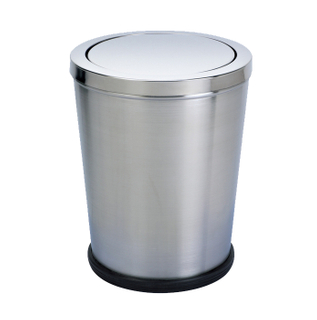 Flip waste bin for restroom KL-009B