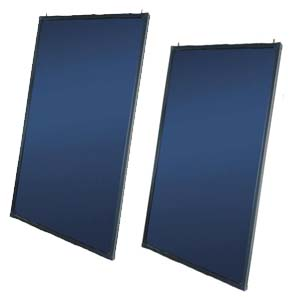 Effective Flat Plate Solar Heating Collector System