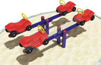 Kids Garden Outdoor Playground Inflatable Seesaw 1120B