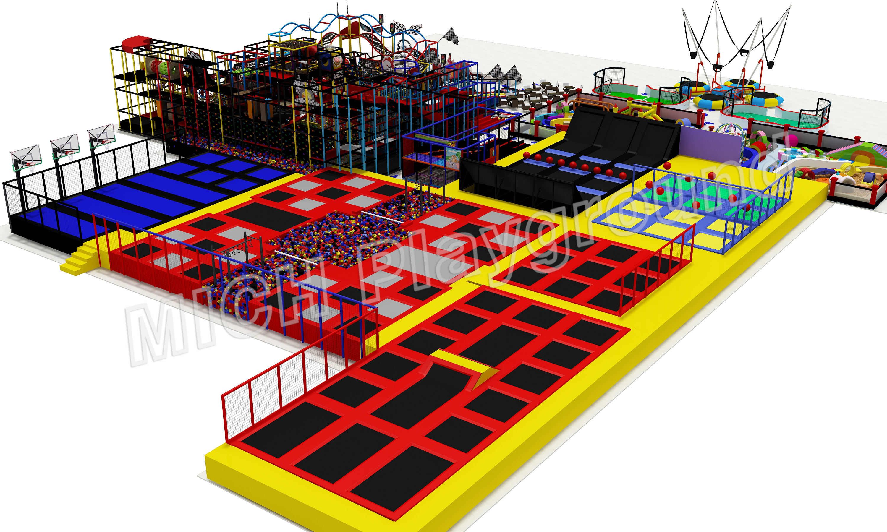 Mich Funny Indoor Amusement Playground 6603B