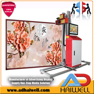 3D Wallpaper Painting Digital UV Inkjet Impresora