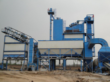 Asphalt Batching Plant Flue Gas Filtration Bag Filter Dust Collector