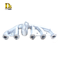 Ductile Iron Clay Sand Casting Agricultural Machine Parts Exhaust Manifold