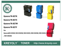 TK-825/827/828 COLOR TONER FOR KM C2520C/3225C/3232C/4035E