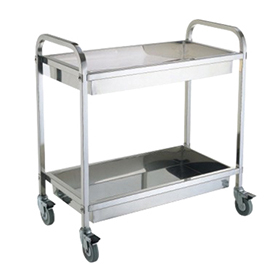 Stainless Steel Hotel Service Cart/Restaurant Service Trolley (FW-67)