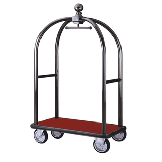 Stainless Steel Luggage Trolley for Hotel Lobby (XL-01K)