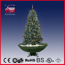 (40110U170-GW) Hot-Selling artificial PVC Snowing Christmas Tree with LED Lights