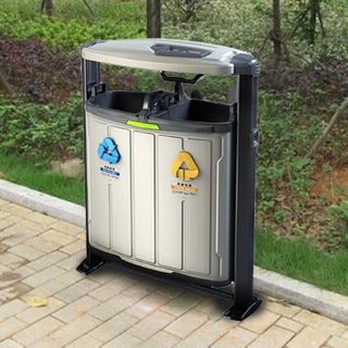Outdoor Dustbin for Arfrican Market with plastic material HW-306