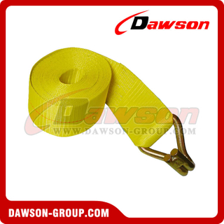 4 inch 27 feet Winch Strap with Wire Hook