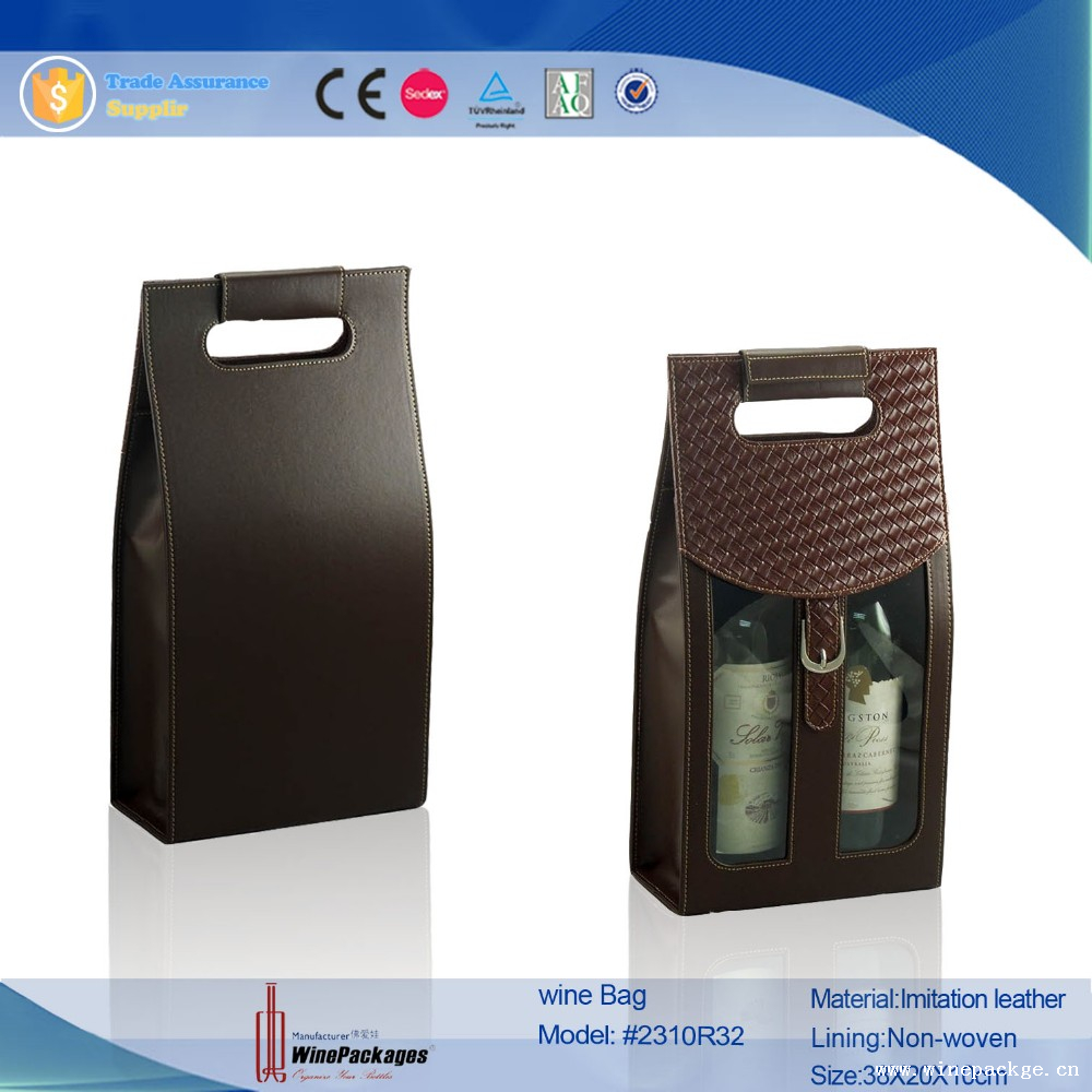 Chinese Novel Products High-end WIne Bag with Ripstop Nylon