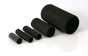 Black high density construction used insulation tube