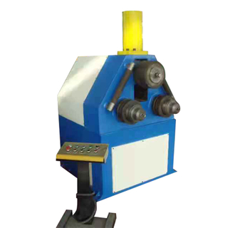 WMT500-16 Heavy Duty Half-hydraulic 3-roller Symmetrical Rolling Machine