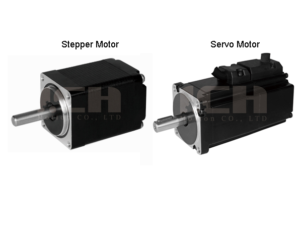 Brief description of Stepper Motor and Servo Motor