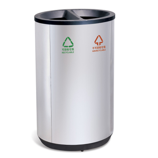 The classified waste bin for shopping mall HW-506