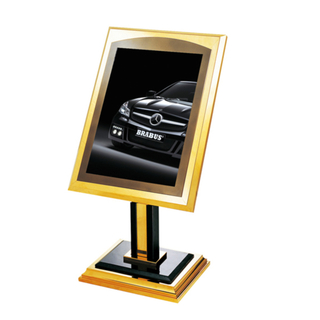 Stainless Steel Sign Stand for Lobby (ZP-01)