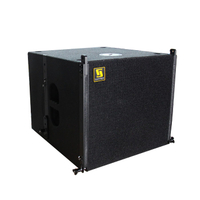 VERA S15 Single 15-Zoll-Kompakt-Subwoofer für kleine Events