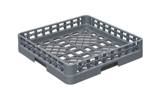 Plastic Open Rack Storage Basket (BK-017)