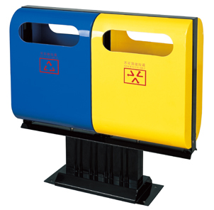 Recyclable and other waste printing waste bin HW-13