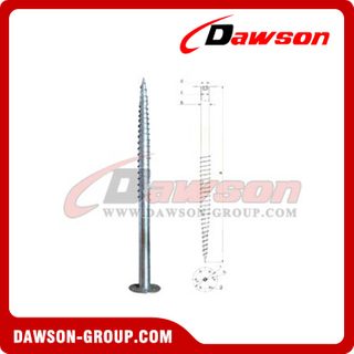 DSb19 F114×2000×220 Earth Auger F Ground Pile Series