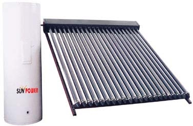 Heat Pipe Split Pressurized Solar Collector (SPA) Solar Keymark SRCC Watermark