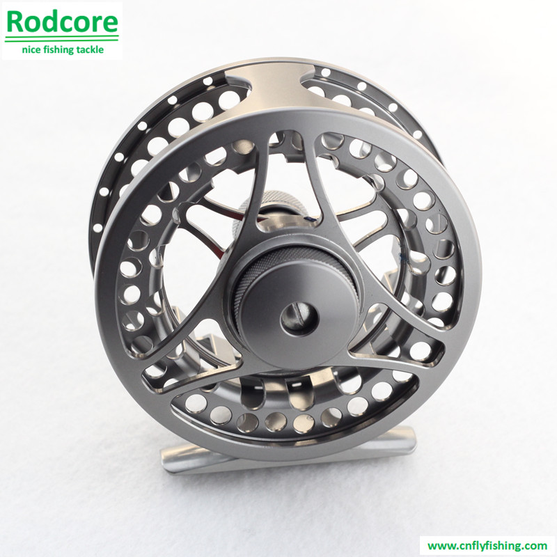 large arbor fly reel D8 (lite gunmetal)