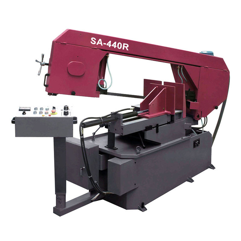 SA-440R High Quality Miter Cutting Band Saw Machine with CE Standard
