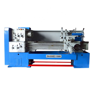 C6250C 52mm Spindle Bore Metal Manual Lathe Machine for Sale