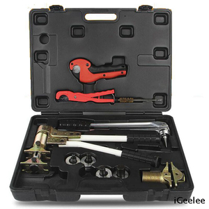 Manual Rehau And Pex Pipe Sleeve Plumbing Tool Kit PEX-1632 for Rahau System