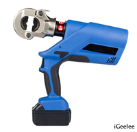 Battery Hydraulic Power Crimping Tool for Cable Lug Up To 300mm2,head Rotates 360° BZ-300