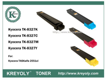 TK-8325/8326/8327/8328/ 8329 COLOR TONER FOR TASKAIFA 2551CI