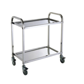 Stainless Steel Hotel Service Cart/Restaurant Service Trolley (FW-66)