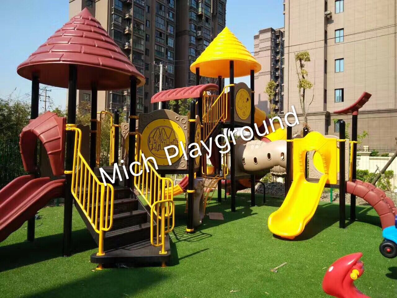 Where we can put outdoor playground