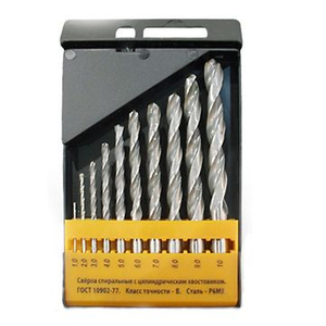 13 STÜCK TWIST DRILL SET